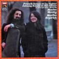 マイスキー&アルゲリッチのフランク&ドビュッシー/チェロソナタほか 仏EMI 3111 LP レコード