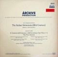 【赤ステレオ】シュナイダーハン&バウムガルトナーのヴィヴァルディ/「四季」 独ARCHIV 3111 LP レコード