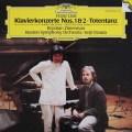 ツィマーマン&小澤のリスト/ピアノ協奏曲第1&2番ほか 独DGG 3111 LP レコード
