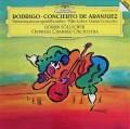 セルシェルのロドリーゴ/アランフェス協奏曲ほか  独DGG 3111 LP レコード