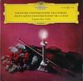 【独最初期盤】リッチのパガニーニ&サン=サーンス/ヴァイオリン協奏曲集 独DGG 3111 LP レコード
