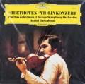 【未開封】 ズッカーマン&バレンボイムのベートーヴェン/ヴァイオリン協奏曲 独DGG 3112 LP レコード
