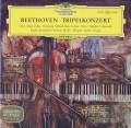 アンダ、シュナイダーハン、フルニエ&フリッチャイのベートーヴェン/三重協奏曲 独DGG 3112 LP レコード