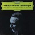 ミケランジェリのショパン/ピアノ作品集 独DGG 3112 LP レコード