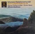 バックハウス&ヴァントのシューマン/ピアノ協奏曲 イ短調ほか 独DECCA 3112 LP レコード