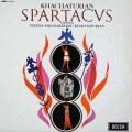 ハチャトゥリアンの自作自演/「スパルタクス」&「ガイーヌ」 英DECCA 3112 LP レコード
