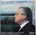 イッセルシュテットのベートーヴェン/交響曲第4番ほか 英DECCA 3112 LP レコード