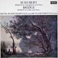 ロストロポーヴィチ&ブリテンのシューベルト/「アルペジオーネ」ソナタほか 英DECCA 3112 LP レコード