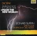 スラットキンのドヴォルザーク/交響曲第9番「新世界より」 独TELARC 3112 LP レコード