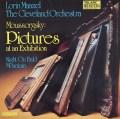 マゼールのムソルグスキー/「展覧会の絵」ほか 独TELARC 3112 LP レコード