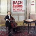 ヴェチュトモフのバッハ/無伴奏チェロ組曲全6曲 チェコスロヴァキアSUPRAPHON 3112 LP レコード