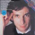 【未開封】 ティルソン・トーマスのベートーヴェン/交響曲第4番ほか CBS 3112 LP レコード