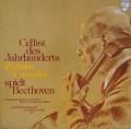 カザルスのベートーヴェン/チェロソナタ第1番ほか 独PHILIPS 3112 LP レコード