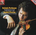 パールマン&プレヴィンのコルンゴルト/ヴァイオリン協奏曲ほか 独EMI 3112 LP レコード