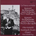 ミヒャリク&ザンデルリンクのウェーバー/クラリネット協奏曲集  独ETERNA 3113 LP レコード