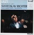 【オリジナル盤】リヒテル&コンドラシンのリスト/ピアノ協奏曲第1&2番 蘭PHILIPS 3113 LP レコード