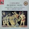 ムーティのケルビーニ/レクイエム ハ短調  独EMI 3113 LP レコード