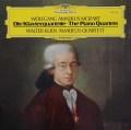 クリーン&アマデウス四重奏団のモーツァルト/ピアノ四重奏曲第1&2番 独DGG 3113 LP レコード