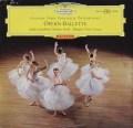 【赤ステレオ・オリジナル盤】 フリッチャイのオペラのバレエ音楽集 独DGG 3113 LP レコード