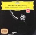 【独最初期盤】カラヤンのベートーヴェン/交響曲第6番「田園」 独DGG 3113 LP レコード