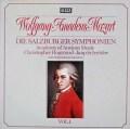 ホグウッドのモーツァルト/交響曲集  Vol.1 (ザルツブルク・1772〜1773年) 独DECCA 3113 LP レコード
