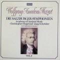 ホグウッドのモーツァルト/交響曲集  Vol.2 (ザルツブルク・1773〜1775年) 独DECCA 3113 LP レコード