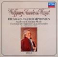 ホグウッドのモーツァルト/交響曲集  Vol.3 (ザルツブルク・1766〜1772年) 独DECCA 3113 LP レコード