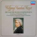 ホグウッドのモーツァルト/交響曲集  Vol.4 (ザルツブルク・1775〜1785年) 独DECCA 3113 LP レコード