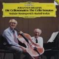 ロストロポーヴィチ&ゼルキンのブラームス/チェロソナタ第1&2番 独DGG 3114 LP レコード