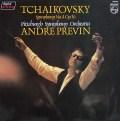 プレヴィンのチャイコフスキー/交響曲第4番 蘭PHILIPS 3114 LP レコード