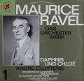 【独最初期盤】クリュイタンスのラヴェル/管弦楽曲集1 「ダフニスとクロエ」 独Columbia 3114 LP レコード