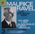 【独最初期盤】クリュイタンスのラヴェル/管弦楽曲集3 「マ・メール・ロワ」ほか 独Columbia 3114 LP レコード
