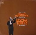 ハイフェッツ&ビーチャムのモーツァルト&メンデルスゾーン/ヴァイオリン協奏曲 独Dacapo 3115 LP レコード