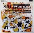 【オリジナル盤】アンセルメのビゼー/交響曲ハ長調ほか 英DECCA 3115 LP レコード