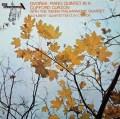 カーゾン&ウィーンフィル四重奏団のドヴォルザーク/ピアノ五重奏曲ほか 英DECCA 3115 LP レコード