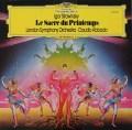 アバドのストラヴィンスキー/「春の祭典」  独DGG 3115 LP レコード