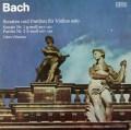 ピカイゼンのバッハ/無伴奏ヴァイオリンソナタ第1番&パルティータ第2番  独ETERNA   3115 LP レコード