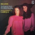ラベック姉妹のブラームス/ハンガリー舞曲集 蘭PHILIPS 3115 LP レコード