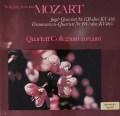 コレギウム・アウレウム四重奏団のモーツァルト/「狩」&「不協和音」 独BASF/HM 3115 LP レコード