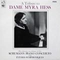 ヘス&シュワルツのシューマン/ピアノ協奏曲イ短調ほか 英EMI 3116 LP レコード