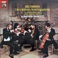 アルバン・ベルク四重奏団のベートーヴェン/中期弦楽四重奏曲集 独EMI 3116 LP レコード