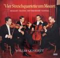 ウェラー四重奏団の「モーツァルト世代の4つの弦楽四重奏曲」 独DECCA 3116 LP レコード