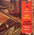 グリュミオー&サルトリのバッハ/ヴァイオリンとチェンバロのためのソナタ集 仏PHILIPS 3116 LP レコード