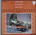 ダンツィ五重奏団のゲバウアー・ロッシーニ&ライヒャの作品集 蘭PHILIPS 3116 LP レコード