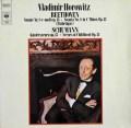 ホロヴィッツのベートーヴェン/「悲愴」ソナタほか 独CBS 3116 LP レコード