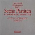レオンハルトのバッハ/6つのパルティータ(クラヴィーア練習曲第1巻) 独HM 3116 LP レコード