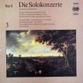 ズスケ&グレツナーらのバッハ/協奏曲集 vol.3 独ETERNA 3117 LP レコード