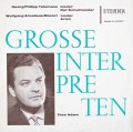 【テストプレス】テオ・アダムのテレマン、モーツァルトを歌う 独ETERNA  3117 LP レコード