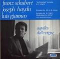 アキルズ・デル・ビンのシューベルト/ピアノソナタ「未完成」ハ長調ほか ベルギーFOON 3117 LP レコード