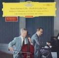 【赤ステレオ、オリジナル盤】 フルニエ&グルダのベートーヴェン/チェロソナタ第1、2番 独DGG 3118